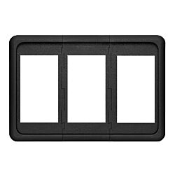 Contura Switch Mounting Panel - 3 Position