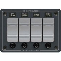 Contura Water Resistant 12V DC Panel - 4 Position