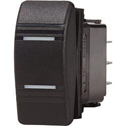 Contura Switch SPDT Black ON-OFF-ON