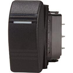Contura Switch SPDT Black - (ON)-OFF-ON