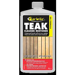 Gel Formula Teak Cleaner/Restorer 1ltr