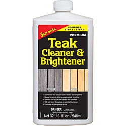 Teak Cleaner & Brightener 1000ml