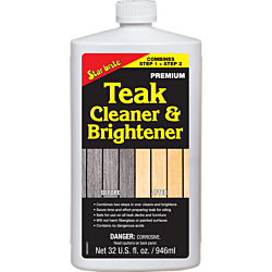Teak Cleaner & Brightener