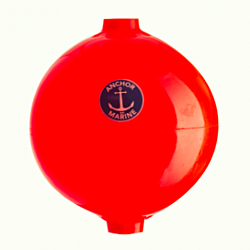 Pole Buoys 30 dia (12) Fluorescent Orange