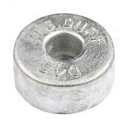 Zinc Hull Anode Bolt On - Disc 4.5 Kgs Nom Net Weight 130MM Dia