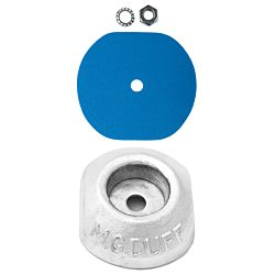 Aluminium Hull Anode Bolt On - DISC 0.4 KGS NOM NET WEIGHT