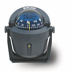 "Ritchie Explorer™ B-51, 2¾"" Dial Bracket Mount - Grey"