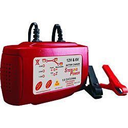 3 amp 6 and 12V Battery Charger