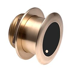 B175M Bronze Low profile Thru-hull chirp 1kw transducer 85 kHz to 135 kHz