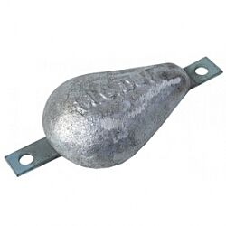Magnesium Hull Anode Bolt On - 0.4 Kgs Nom Net Weight 145MM Bolt Centres