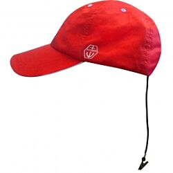 Maindeck quickdry sailing cap red