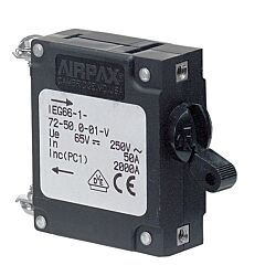 Airpax 15A Single Pole IEG Magnetic Circuit Breaker