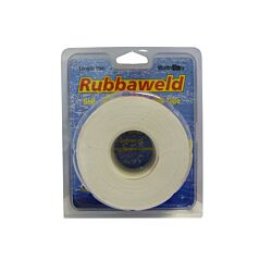 White 5m X 25mm Rubbaweld Self Amalgamating Marine Tape