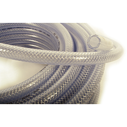 CLEAR REINFORCED HOSE