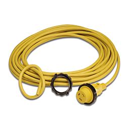 Cordset, 16A 230V, 12/3, 25', Yellow