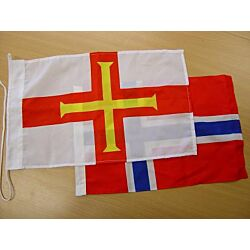 Guernsey Courtesy Flag 45x30cm Printed