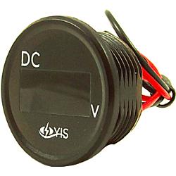 Digital Voltage Meter with Quick Connect Terminals