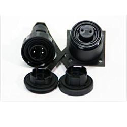 2 Pin Plug & Bulkhead Socket Kit