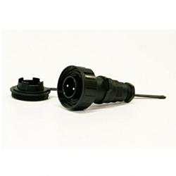 2 Pin Plug & Cap
