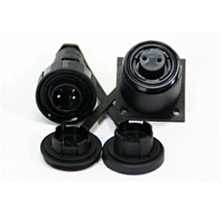 6 Pin Plug & Bulkhead Socket Kit
