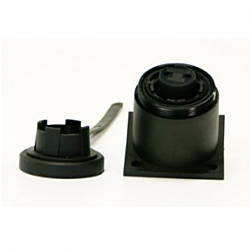 6 Pin Bulkhead Socket & Cap