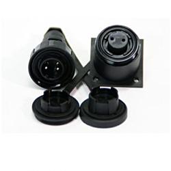 7 Pin Plug & Bulkhead Socket Kit