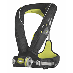 Spinlock Deckvest Lifejacket Harness - Size 2 (Gun Metal/Black)