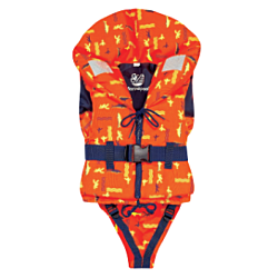 100N ISO Freedom foam lifejacket 20-30kg - fish print