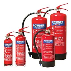 6kg ABC Dry Powder Extinguisher 43A 233B MED Approved