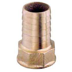 Hose Connector F (Brass)