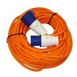 25M Hook Up Lead 16A 2.5mm Sq Cable