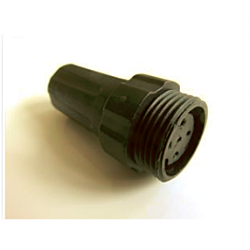 6Pin In-line connector - female