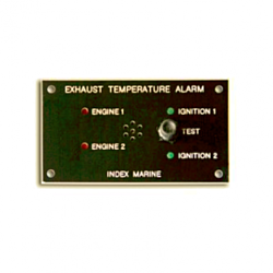Panel Ex Temp Alarm - Twin