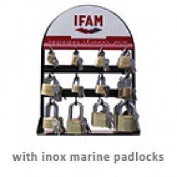 Marine ISO Padlock Display 54 pieces