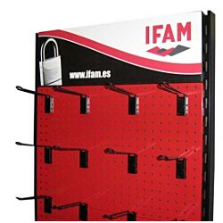Marine ISO Padlock Display 180 pieces