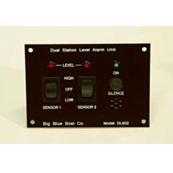 Dual station level alarm