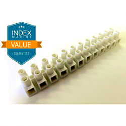 Connector Block - 12Way - 16A with mounts