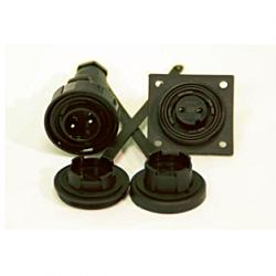2 Pin Plug & Low-Flange Socket Kit
