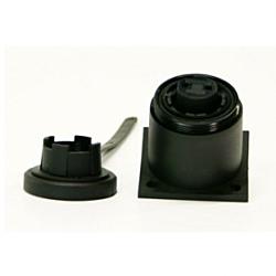 2 Pin Bulkhead Socket & Cap
