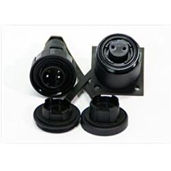 3 Pin Plug & Bulkhead Socket Kit