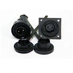 9 Pin Plug & Low-flange Socket Kit