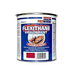 Flexithane Hypalon Paint - 500ml Red