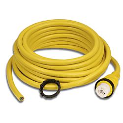 Cordset, 32A 230V, 50', Yellow