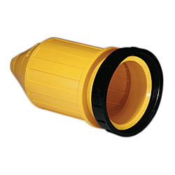 Weatherproof Cover With Threaded Sealing Ring, 32A