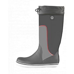 Maindeck tall grey rubber boot Size 10