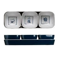 Columbus Snacks Set 26.8 x 9cm. Melamine+