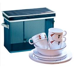 Regata Tableware Set Non Slip 24 Pieces