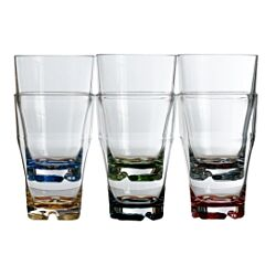 Party Stackable Beverage Glass 6 set