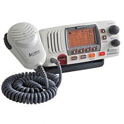 Cobra F77 Fixed VHF Marine Radio with GPS - White