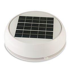 "Day/Night Solar Vent, 3"" (7.62 cm) White"